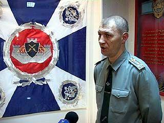 Войсковая часть 16562 получила боевое знамя нового образца