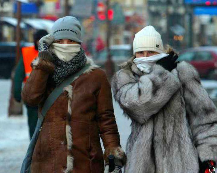 Возможно резкое похолодание Прогноз погоды на 18.12.15