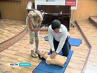 Все сотрудники Воронежской БСМП ╧1 станут дипломированными спасателями