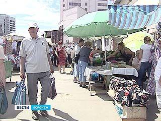 Все воронежские рынки к 2014 году переедут с улиц в капитальные строения