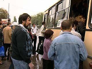 Всемирный день без автомобиля воронежцы встретили в набитых автобусах