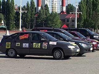 Всероссийский автопробег проложил курс через Воронеж
