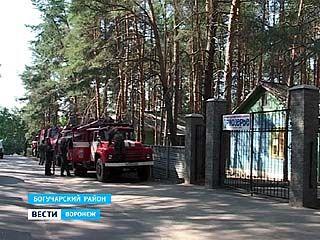 Второй сводный отряд пожарных прибыл в Богучарский район
