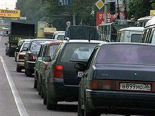Введено ограничение движения транспорта