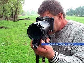 Вячеслав Краснощёков подарил товарищу по увлечению фотооборудование