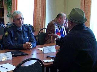 Выездные приемные милиции работали во всех районах Воронежа