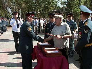 Выпускники ФСИН получили первые звания