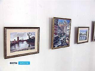 Выпускница Воронежского художественного училища открывает персональную выставку
