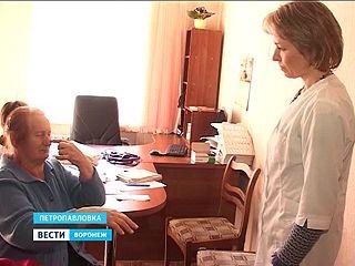 Высококвалифицированные врачи за один день осмотрели более сотни пациентов в Петропавловке