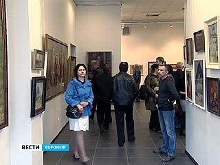 Выставка курского живописца Михаила Золотых открылась в Воронеже