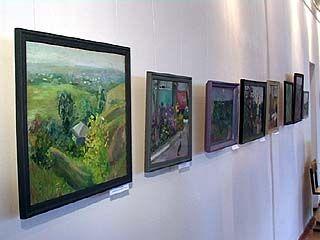 Выставка начинающих художников открылась в Воронежском худучилище