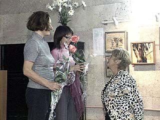 Выставка работ воронежских художниц открылась в Доме архитектора