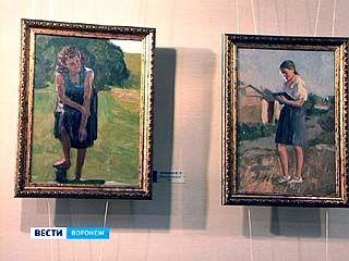 Выставка старых воронежских художников открылась в Столице Черноземья