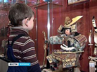 Выставка восточных игрушек открылась в Воронежском краеведческом музее