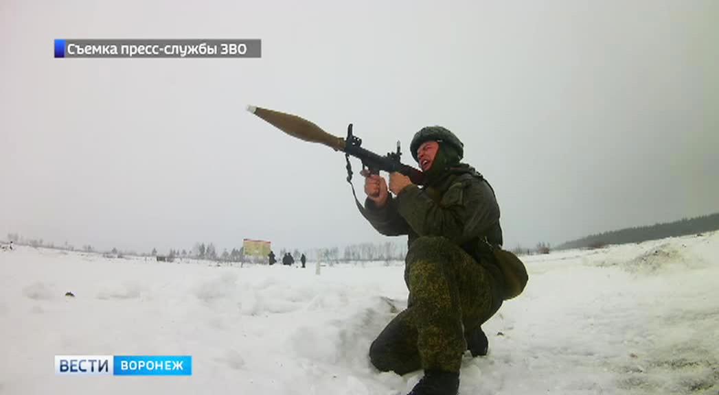 Под Воронежем прошли соревнования лучших артиллеристов Западного военного округа