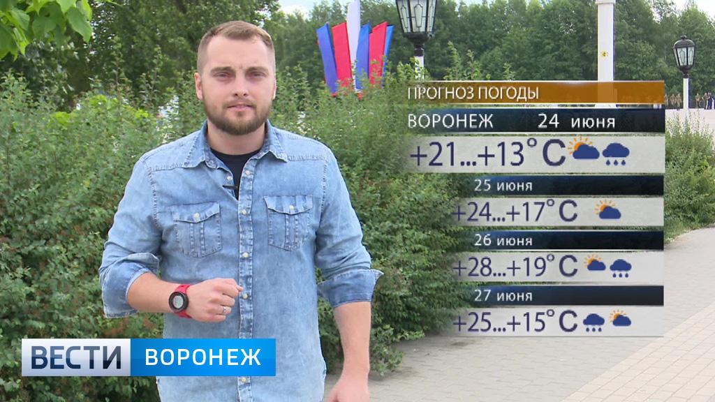 Прогноз погоды с Ильёй Савчуком на 24 – 25.06.17