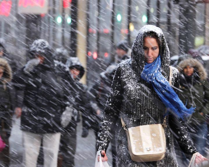 Из-за потепления на этой неделе в Воронежской области возможны мокрый снег и дожди