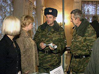 Ярмарка вакансий для военнослужащих прошла в Д/К Кирова