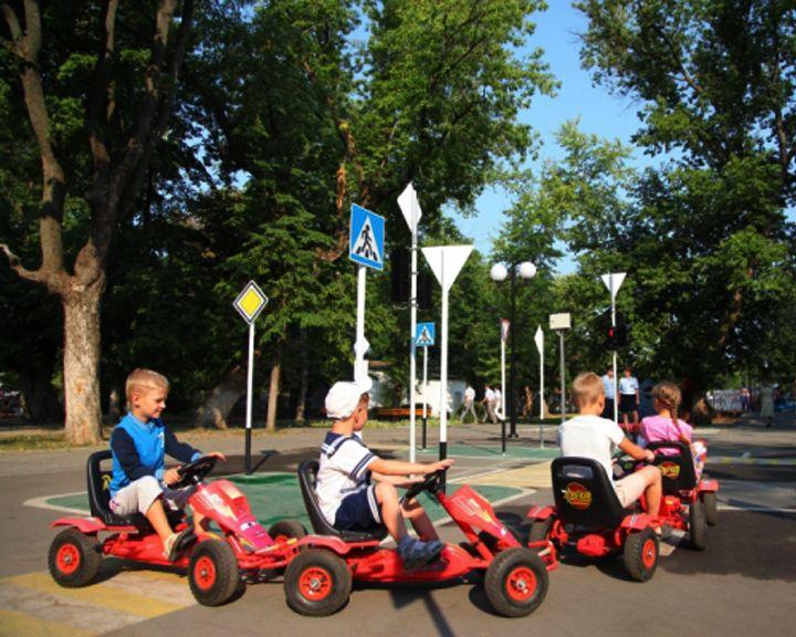 Юные воронежцы смогут на каникулах пройти «школу водителя»