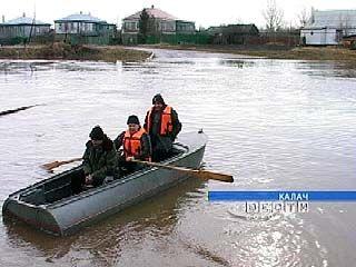 Южные районы области вышли на пиковые показатели паводка