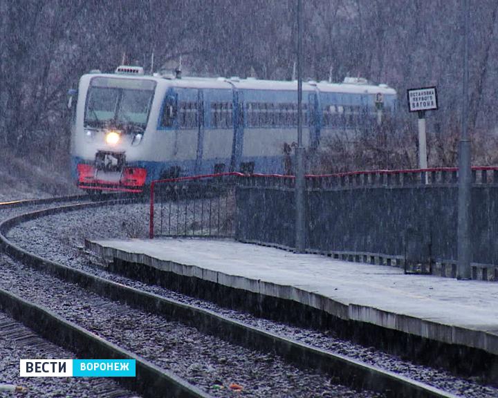 В Воронеж жителей Семилук будет доставлять поезд из Касторной