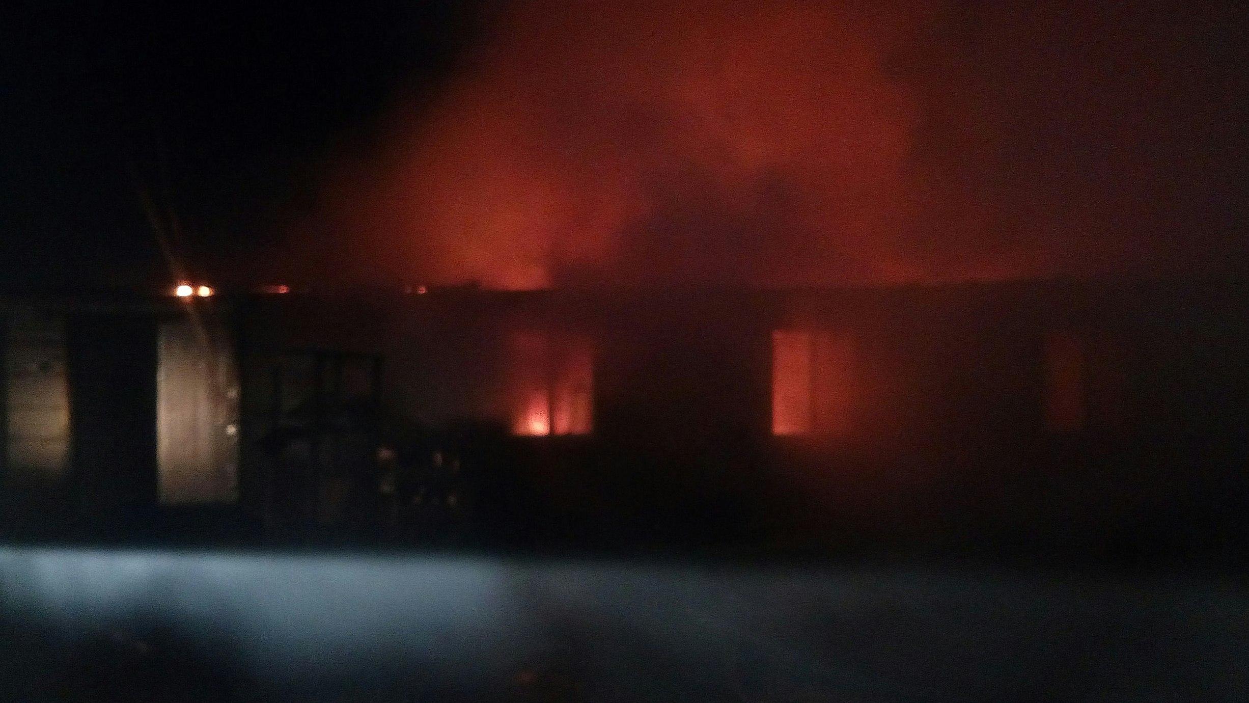 В Воронежской области при пожаре в собачьем приюте погибло более 50 щенков
