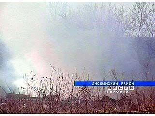 За 3 дня в лесах региона зарегистрирован 61 пожар
