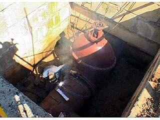 За 36 часов на водопроводных сетях нужно было выполнить глобальный ремонт