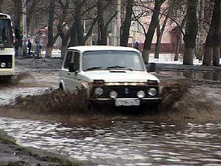 За два дня Воронеж превратился в одно большое озеро