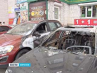 За неделю в Воронеже подожгли 9 автомобилей