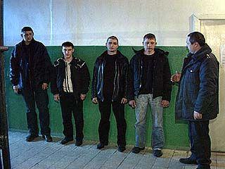 Задержаны четверо грабителей