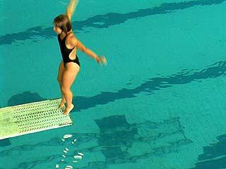 Закончились соревнования по прыжкам в воду
