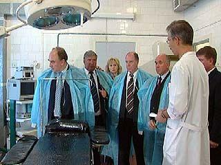 Замминистра здравоохранения посетил медучреждения Воронежа