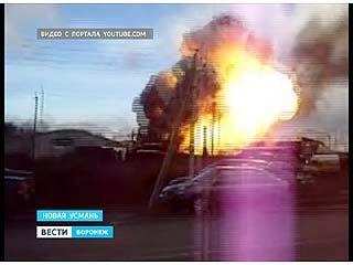 Заправка в Новоусманском районе, где взорвалась автоцистерна, работала нелегально