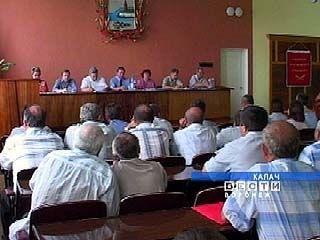 Заседание координационного совета по охране труда состоялось в Калаче