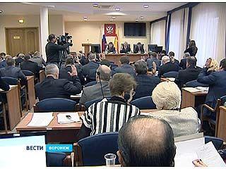 Заседание Воронежской городской Думы началось с голосования