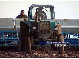 Завершаются весенне-полевые работы в хозяйствах области