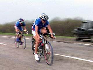 Завершились соревнования по велоспорту