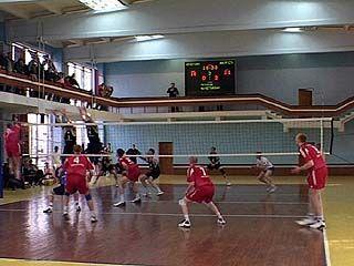 Завершилось первенство области по волейболу
