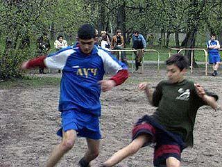 Завершился последний тур чемпионата по футболу среди инвалидов