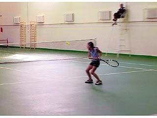 Завершился турнир на призы федерации тенниса