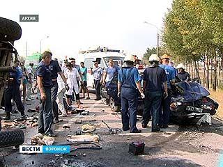Жара стала причиной огромного количества аварий в Воронеже