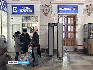 Железнодорожный вокзал в Воронеже оборудуют пунктами досмотра граждан
