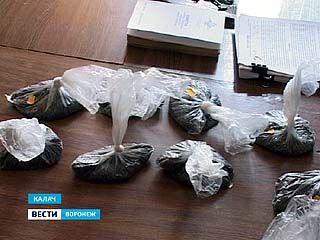 Житель Калачеевского района привёз на автобусе из Москвы 1,5 кг наркотиков