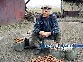 Житель посёлка Верхние Озерки Иван Сушков - отшельник по неволе