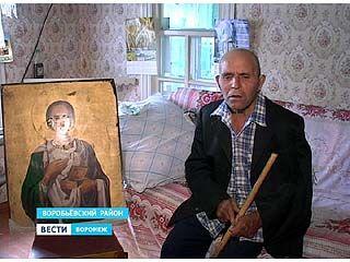 Житель села Никольское решил вернуть церкви уникальную икону