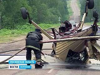 Житель Воронежа совершил вынужденную посадку самолёта прямо на трассе