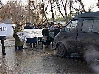 Жители города протестуют против строительства АЗС