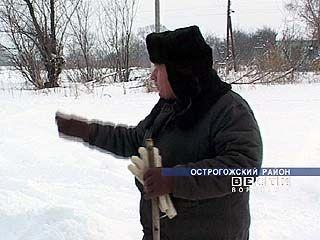 Жители хутора Гостиный 1,5 месяца в снежном плену