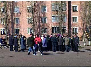 Жители Левобережного района Воронежа вышли на стихийный митинг